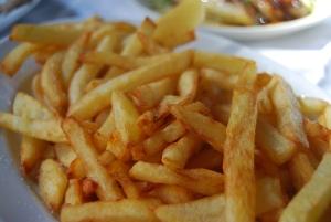 Des frites maison!
