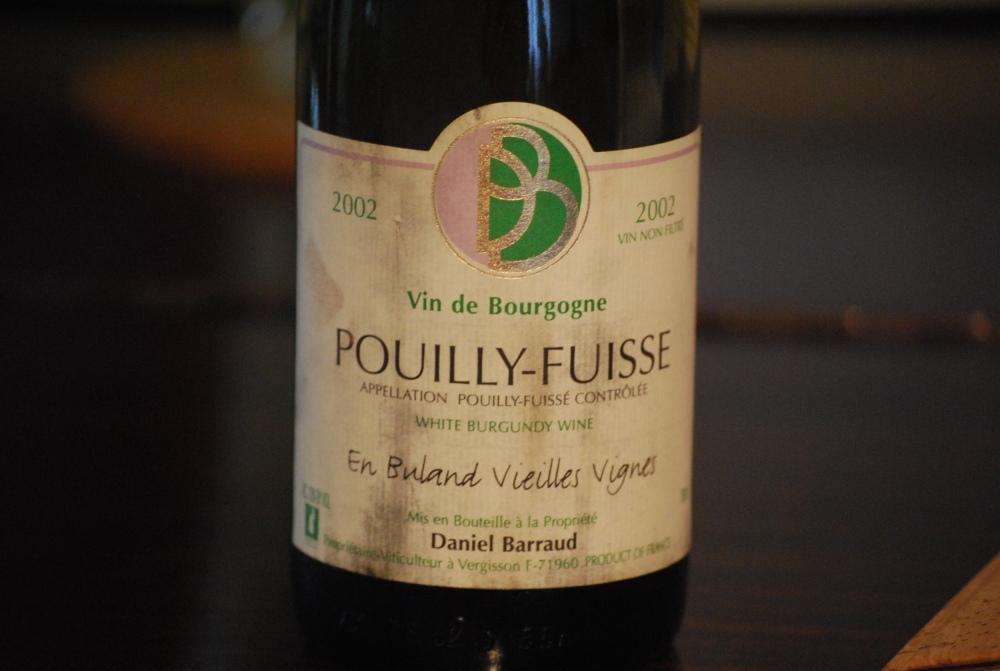 Pouilly Fuissé 2002 Barraud