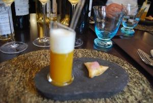 Courge et samosa aux onions