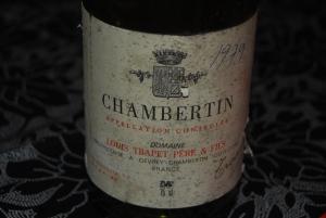 Chambertin 1979 Louis Trapet