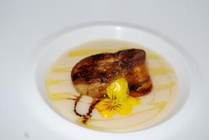 hot foie gras