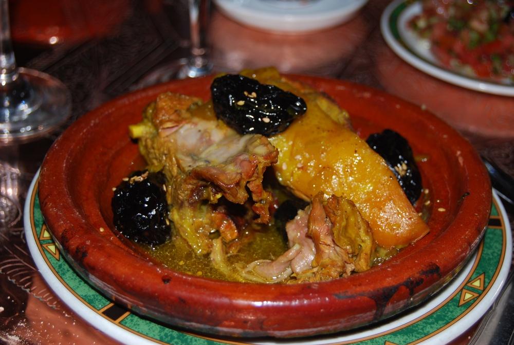 lamb tajine with prunes