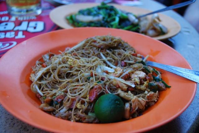 Singapore Chinatown noodles