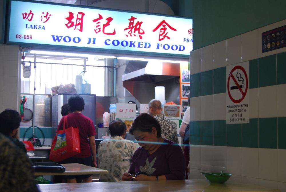 Singapore Chinatown upstairs market stalls