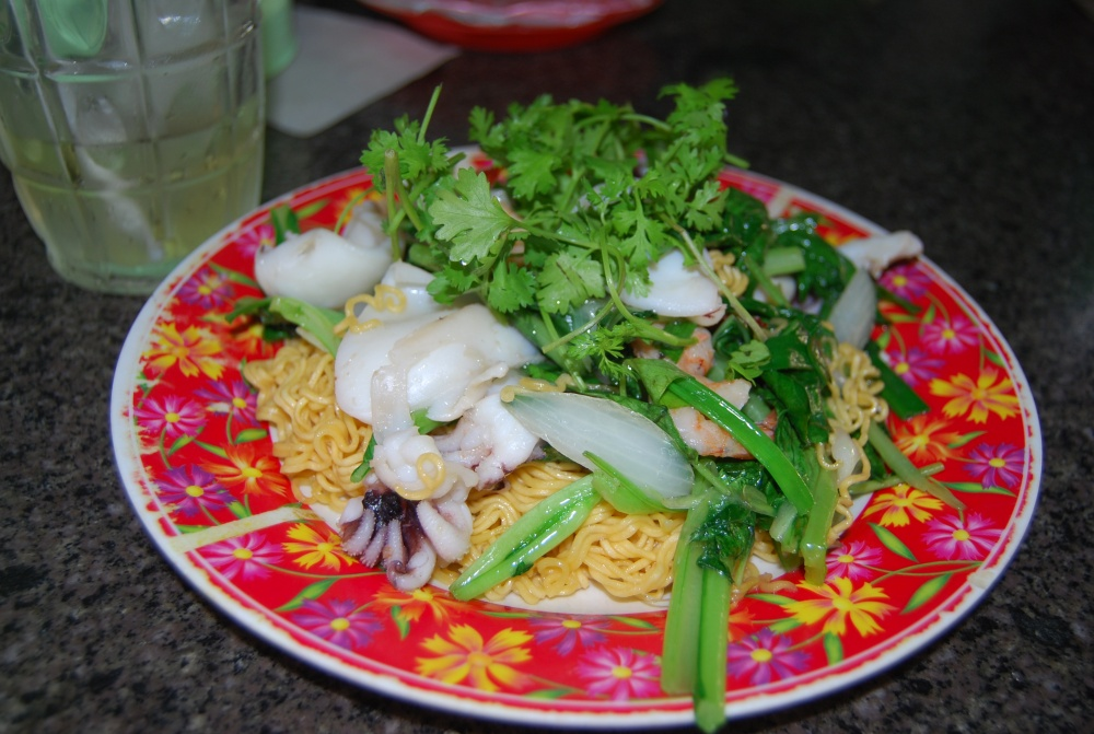 noodles with sea food