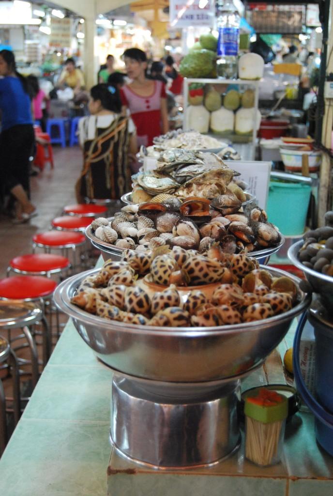 shellfish stand