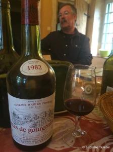 Baux de Provence Rouge 1982 and Luc Cartier